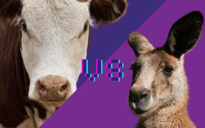 Cows vs. Kangaroos